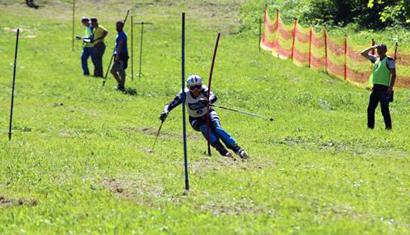 Sci d'erba: Manzoni e Buoi campioni italiani in slalom a Tambre
