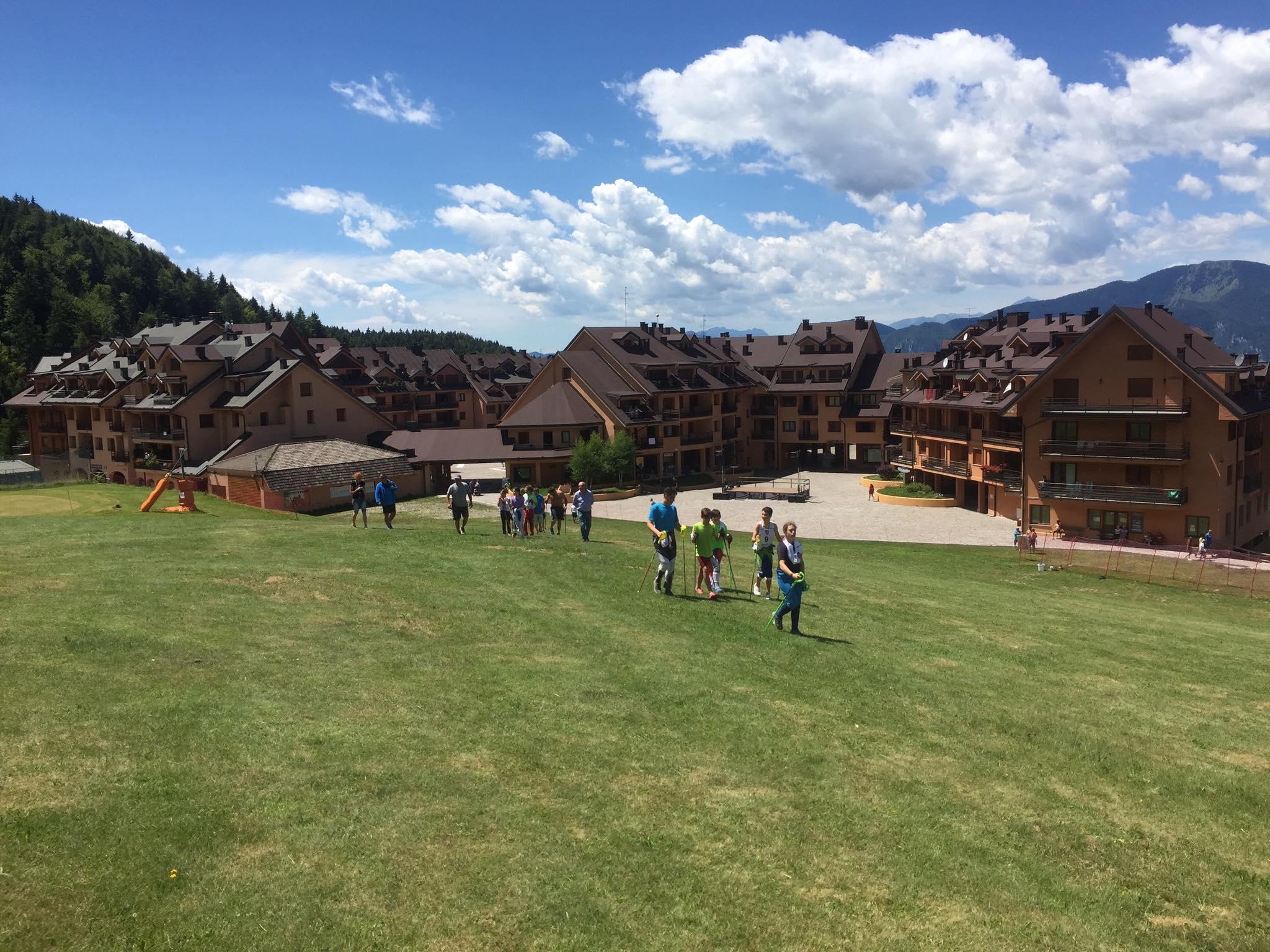 Sci d'erba: gli azzurri in allenamento a Montecampione in attesa dei mondiali junior di disciplina