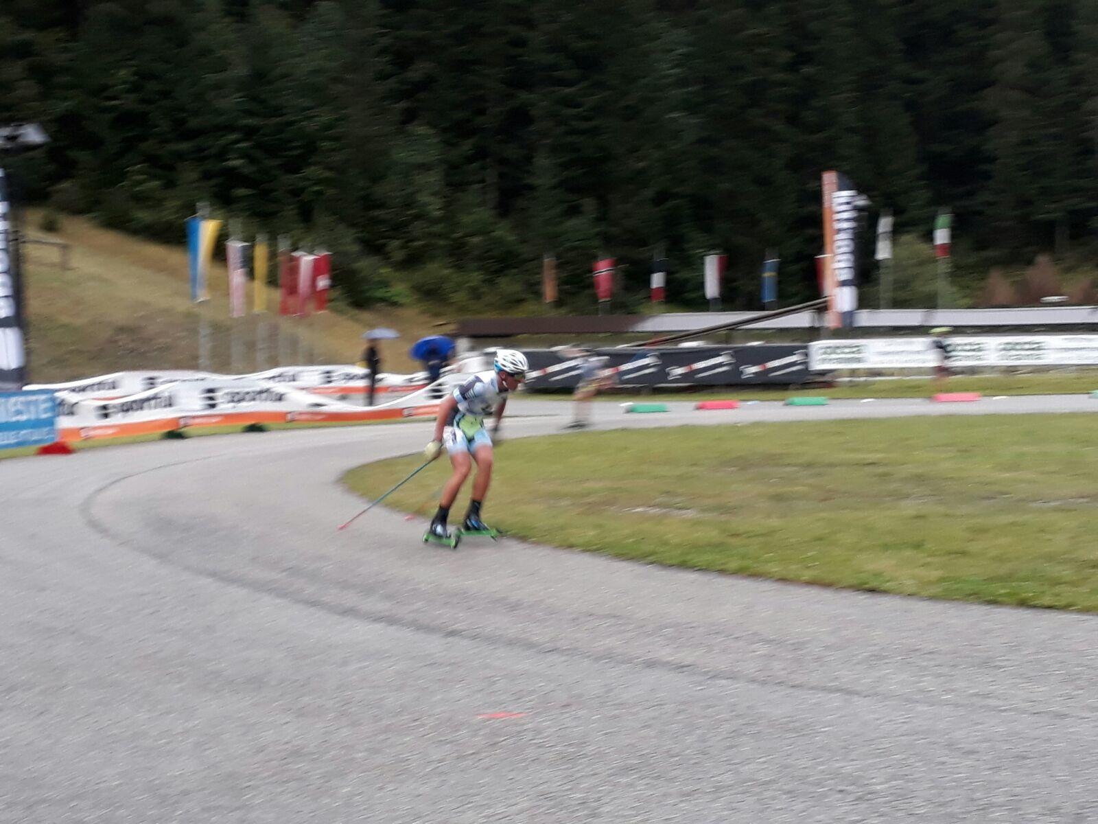 Sci nordico: brillanti performance per i ragazzi del Comitato FISI Alpi Centrali nel Summer Cross Country di ski roll. (foto gallery)