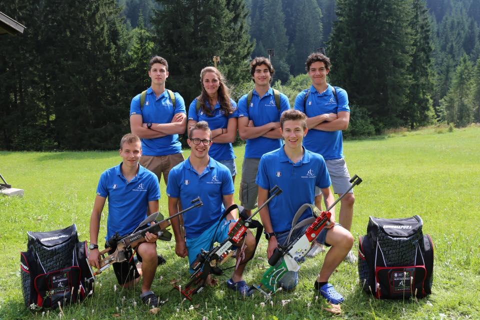 Biathlon: concluso con successo il primo collettivo della formazione del Comitato FISI Alpi Centrali. 7 giorni di allenamento a Forni Avoltri (foto gallery)