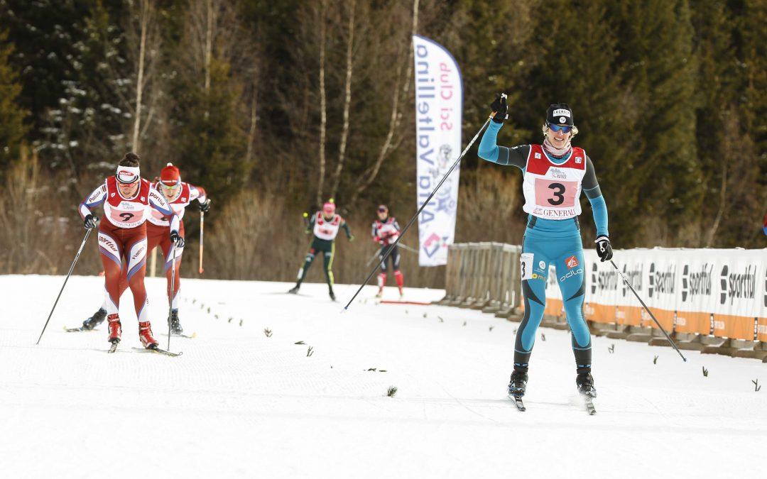 Leupold e Jean si impongono nella sprint di apertura del trofeo Canclini-Sosio 2017 a Santa Caterina