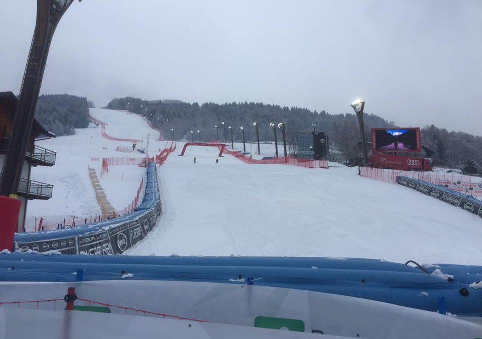 """Sci alpino: a Bormio cancellata la seconda prova della discesa di CdM. Domani la gara sulla """"Stelvio""""."""