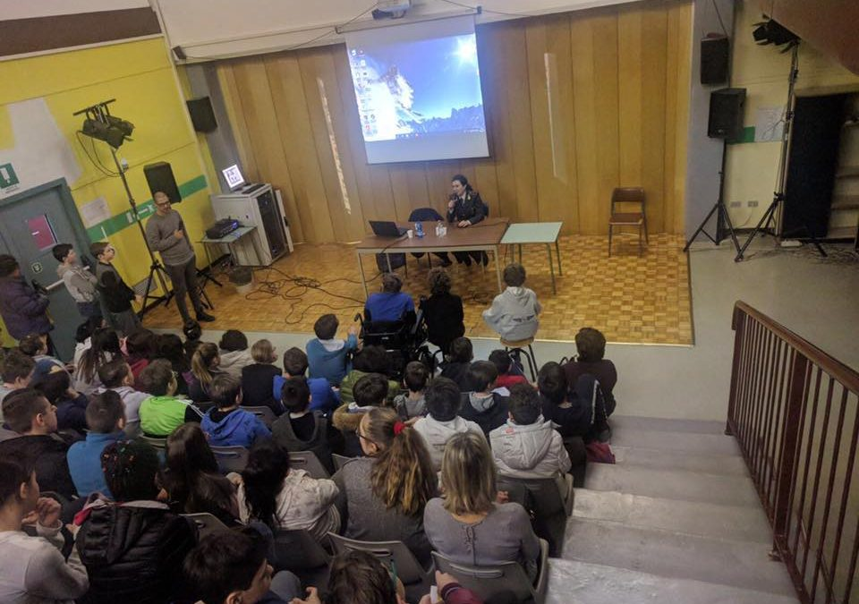 """La Merighetti """"prof"""" a Darfo Boario per il progetto """"scivolare"""" (foto gallery)"""