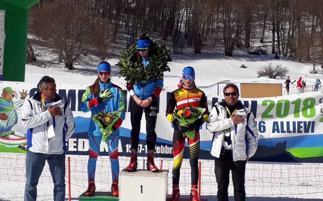 Sci nordico: doppietta valtellinese nella prima prova tricolore dei Campionati Italiani Allievi