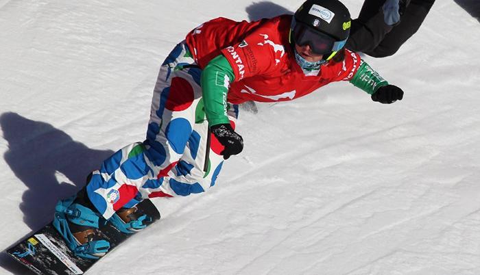 Michele Moioli: ALZALA QUELLA COPPA! Per la bergamasca seconda coppa del mondo di snowboardcross