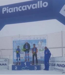 """Sci nordico: Gaglia campione italiano in Gimkana Sprint Ragazzi. Secondo posto per Artusi. Inizio con il """"botto"""" per la formazione del Comitato FISI Alpi Centrali"""
