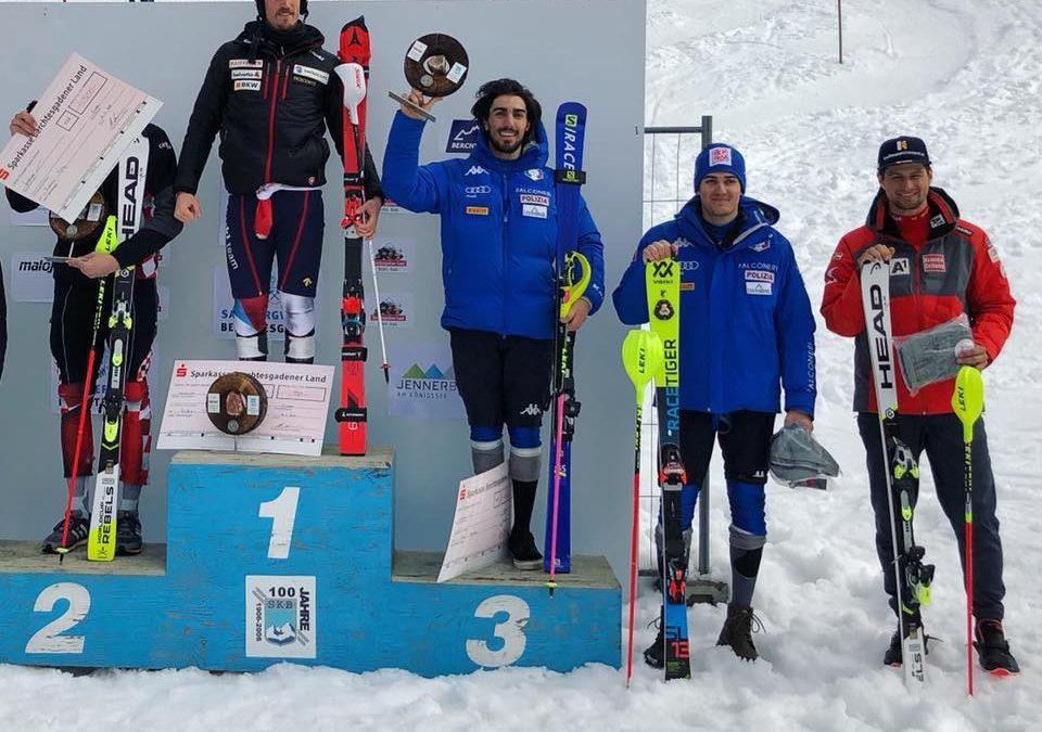 Sci alpino: in Coppa Europa Sala è terzo nello speciale di Berchtesgaden