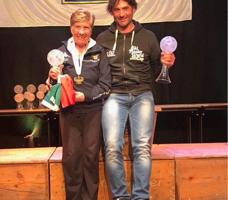 Fabretto, Corsi e Piantoni vincono la CdM FIS Master Cup 2018