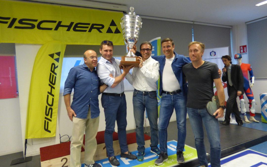 Sci alpino: sabato a Milano la cerimonia di premiazione del Circuito Fischer Master Cup trofeo Camillo Onesti (fotogallery)
