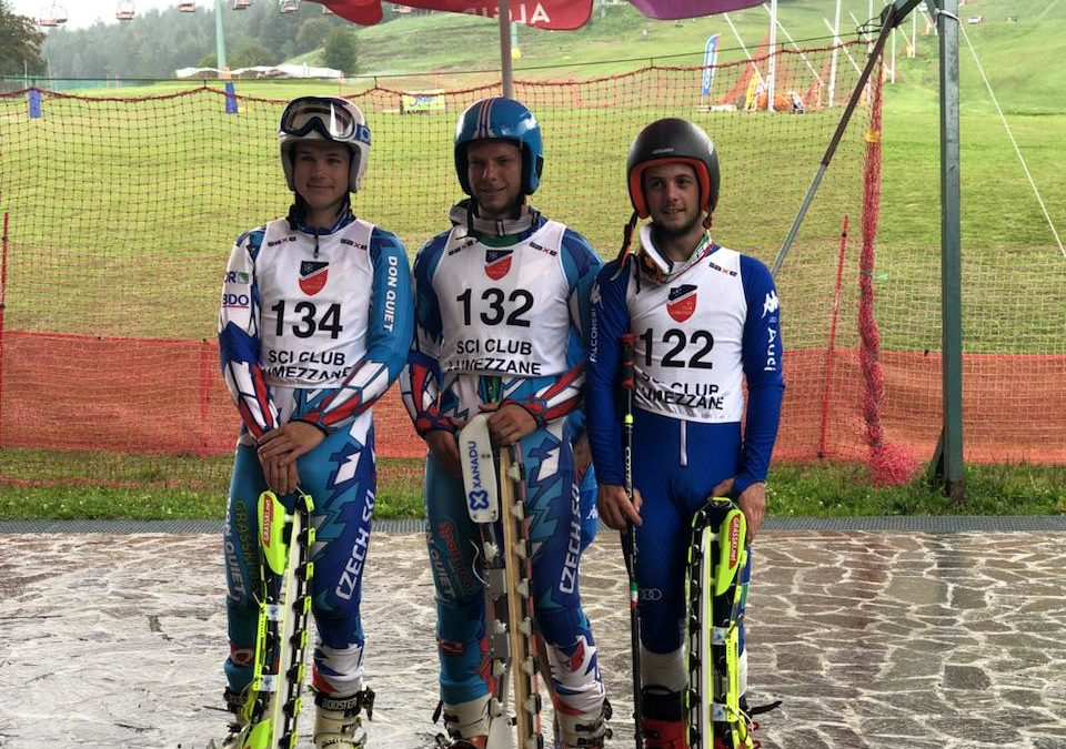 Bartak fa il pieno nei mondiali junior di sci d'erba a Montecampione. Suo anche il superg. Azzurri di bronzo con Saviane. In campo femminile altra doppietta giapponese