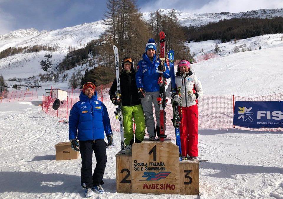 Sci alpino: nel gigante di Madesimo secondo posto per Ilaria Ghisalberti. La Giordani è terza nelle aspiranti