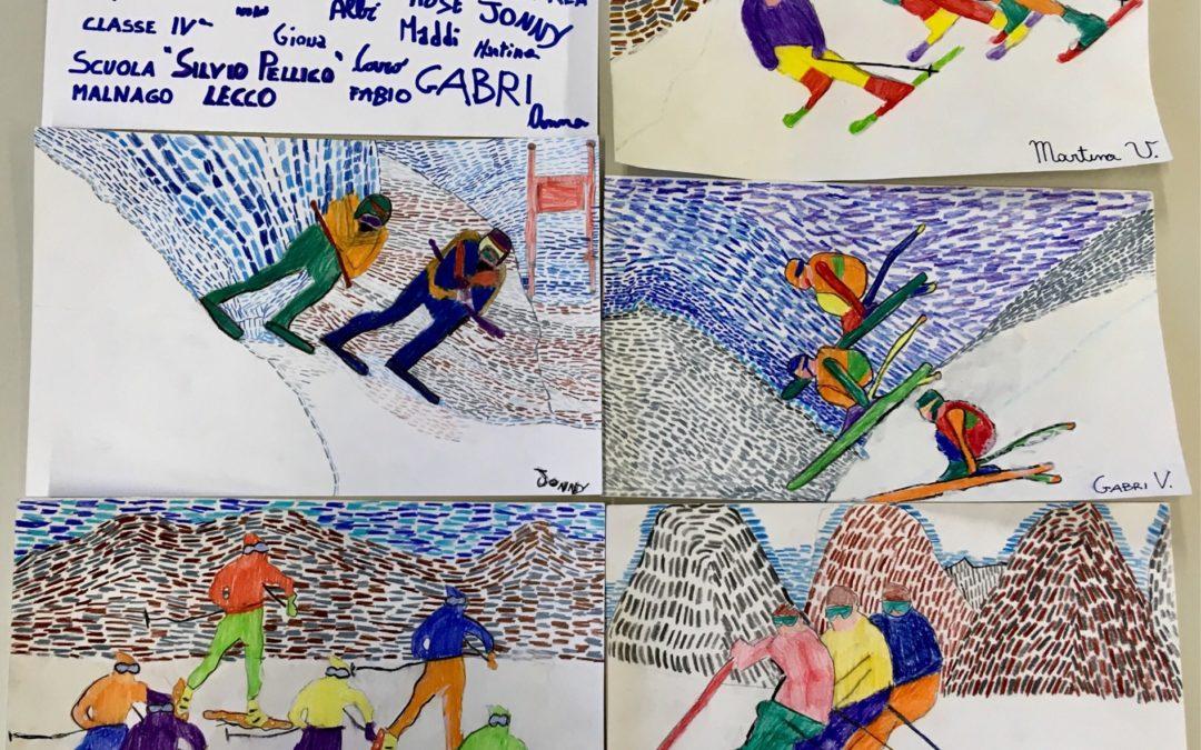 """""""SCIvolare"""" ecco gli elaborati della scuola primaria """"Silvio Pellico"""" di Malnago. Per gli studenti: """"lo sport è il ritmo della mente"""" (fotogallery)"""
