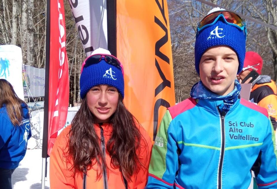 Campionati italiani di sci nordico Ragazzi: la Comensoli argento e Gaglia bronzo nella prova inaugurale a Gimkana (fotogallery)