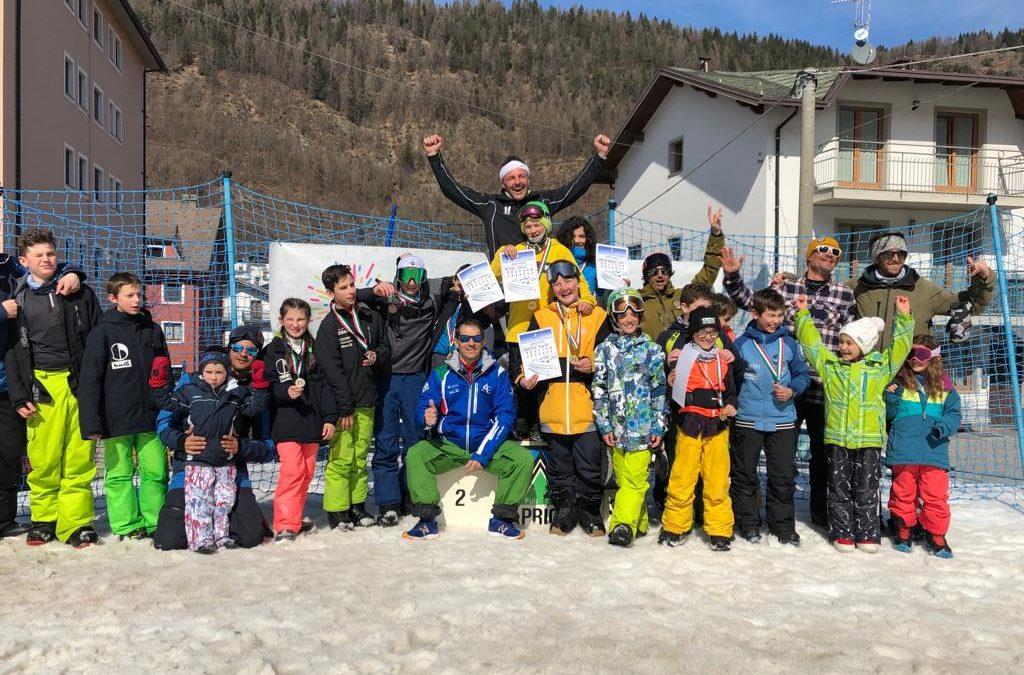 Snowboard slopestyle: ecco i nuovi campioni regionali del Comitato FISI Alpi Centrali (foto gallery)
