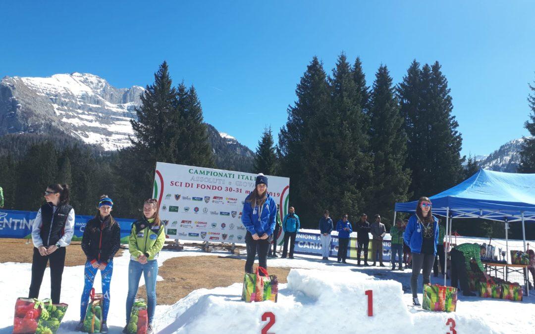 Sci nordico: negli italiani di Campo Carlo Magno la Isonni è argento nelle allieve. Valentina Maj è quarta nelle junior