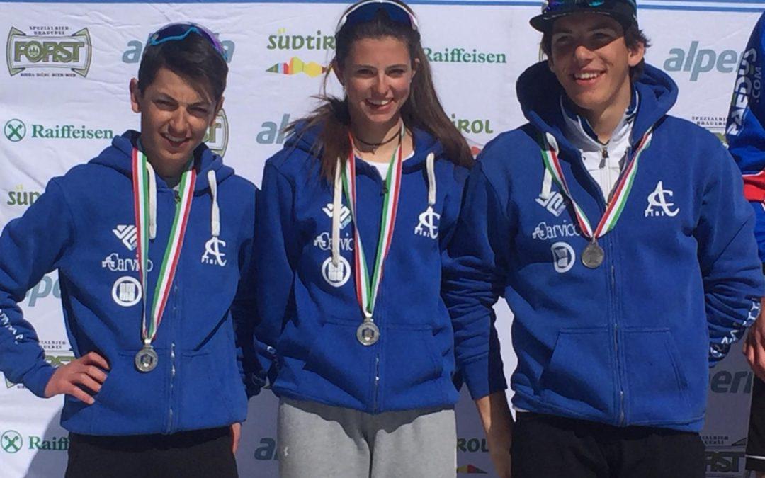 Biathlon: Comitato FISI Alpi Centrali d'argento nella staffetta giovani tricolore