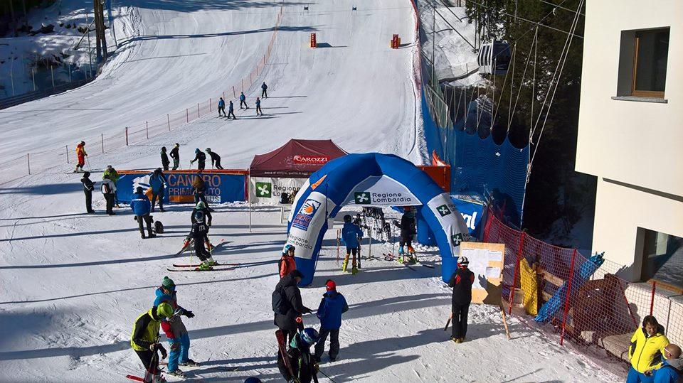 Sci alpino, oggi il gigante regionale allievi. Successo per Marangon e Motterlini