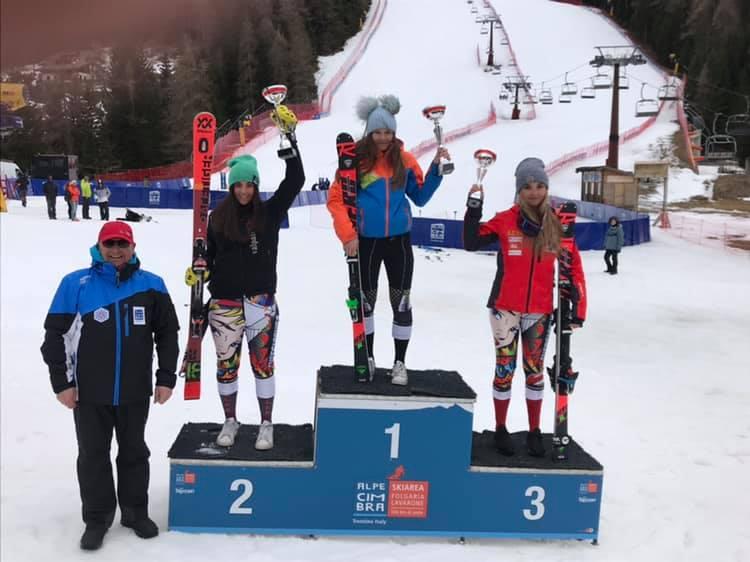 Alpe Cimbra FIS Children Cup. Nella selezione allievi di speciale seconda piazza per Ludovica Loda