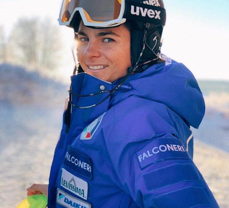 Sci alpino: la Bertani è terza nel gigante femminile di Coppa Europa