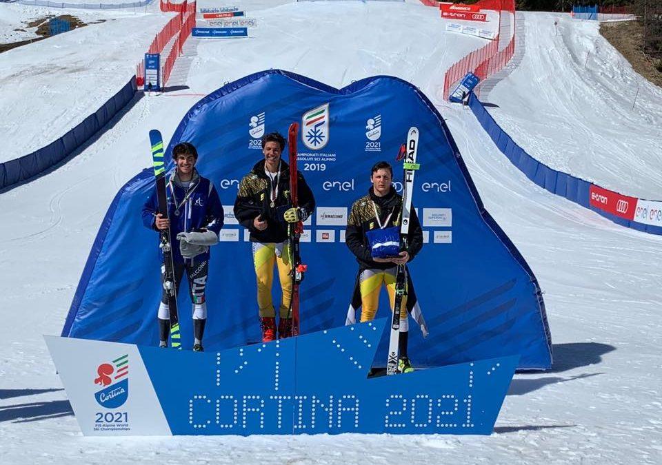 Sci alpino: medaglia d'argento nel supergigante dei Campionati Italiani Giovani per Luca Resinelli