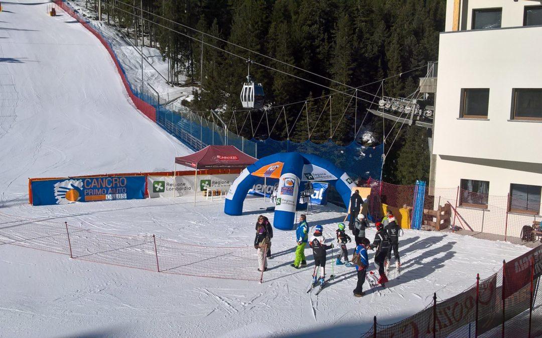 Sci alpino: Greta Angelini e Alberto Claudani si impongono nel supergigante del campionato regionale Alpi Centrali