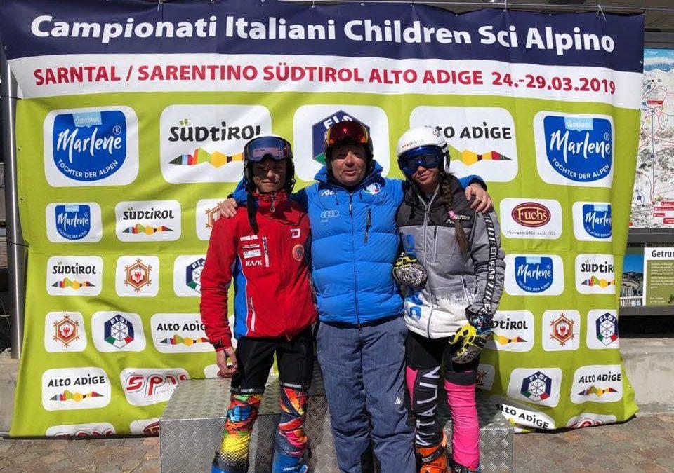 Sci alpino: nel supergigante Ragazzi tricolore arrivano un argento ed un bronzo per il Comitato FISI Alpi Centrali