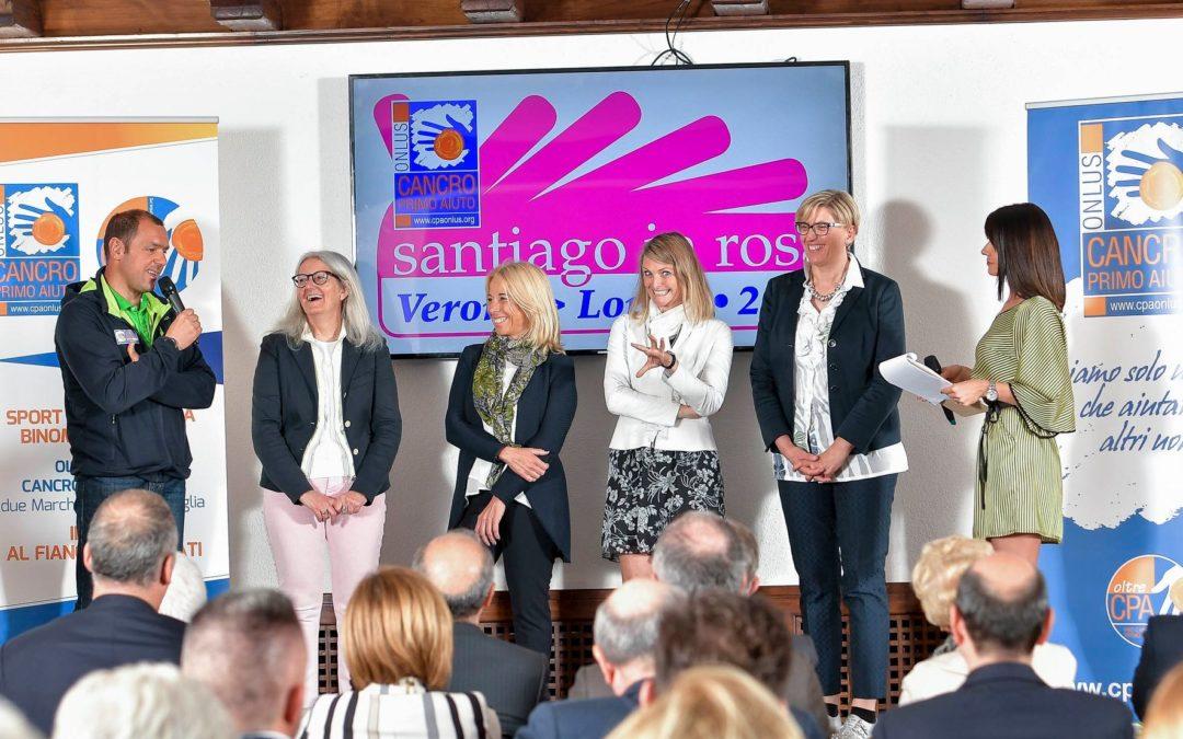 """""""Santiago in Rosa 2019"""": si parte il 27 settembre. Quattro le sciatrici lombarde protagoniste della nuova edizione."""