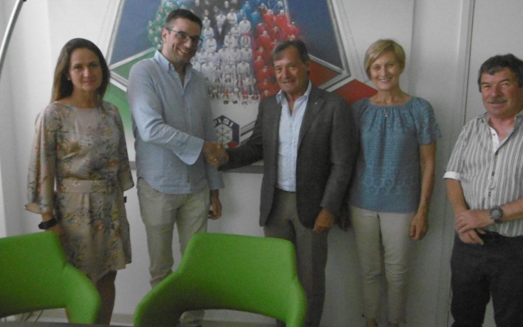 Sottoscritto protocollo di intesa fra l'ISS Olga Fiorini-Marco Pantini, FISI, Alpi Centrali e comitato FISI di Varese