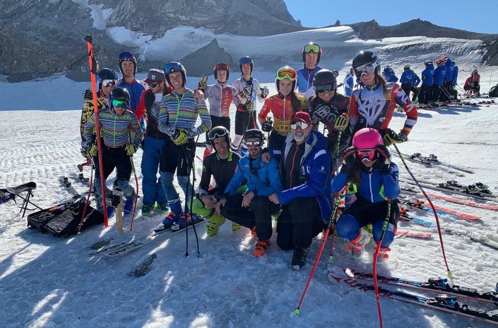 Sci alpino: da domani nuovo collettivo sulle nevi di Saas Fee