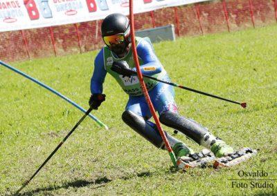 Lorenzo Gritti in Azione in Slalom [1024x768]