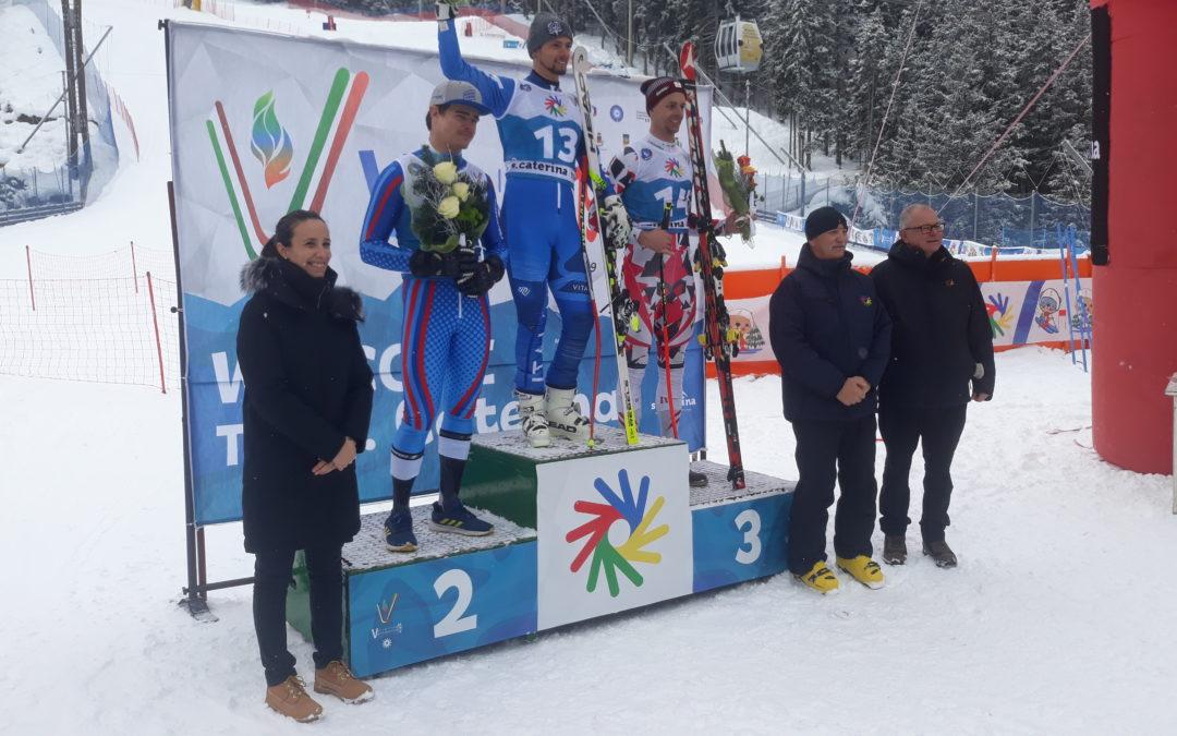 Deaflympics Winter Games: nella libera di Santa Caterina arriva la perla di Giacomo Pierbon