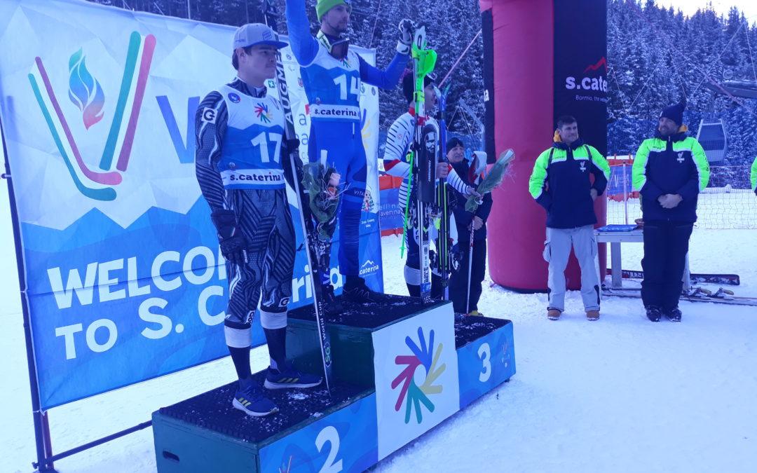 Sci alpino: nei Deaflympics Winter Games Pierbon cala il bis e centra la vittoria nella combinata