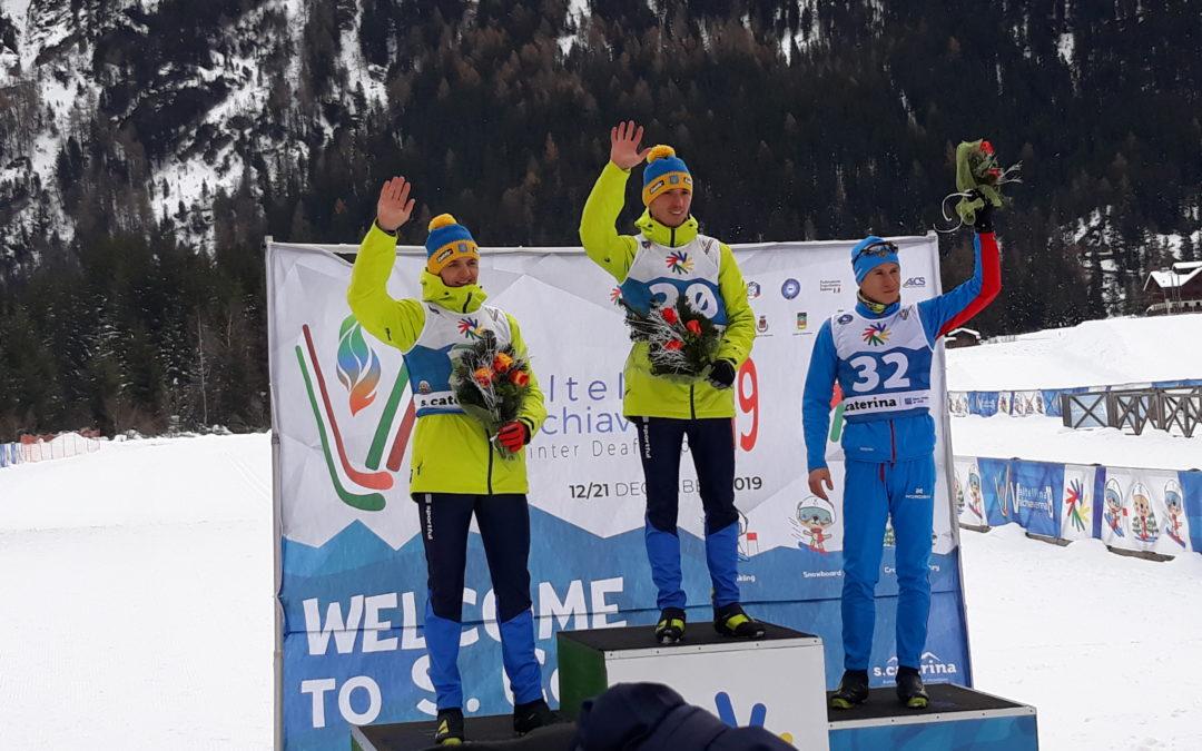 """Sci nordico: nella prova individuale dei Deaflympics Winter Games finale da """"brivido"""" nella prova maschile. La Fedulova si impone fra le donne"""