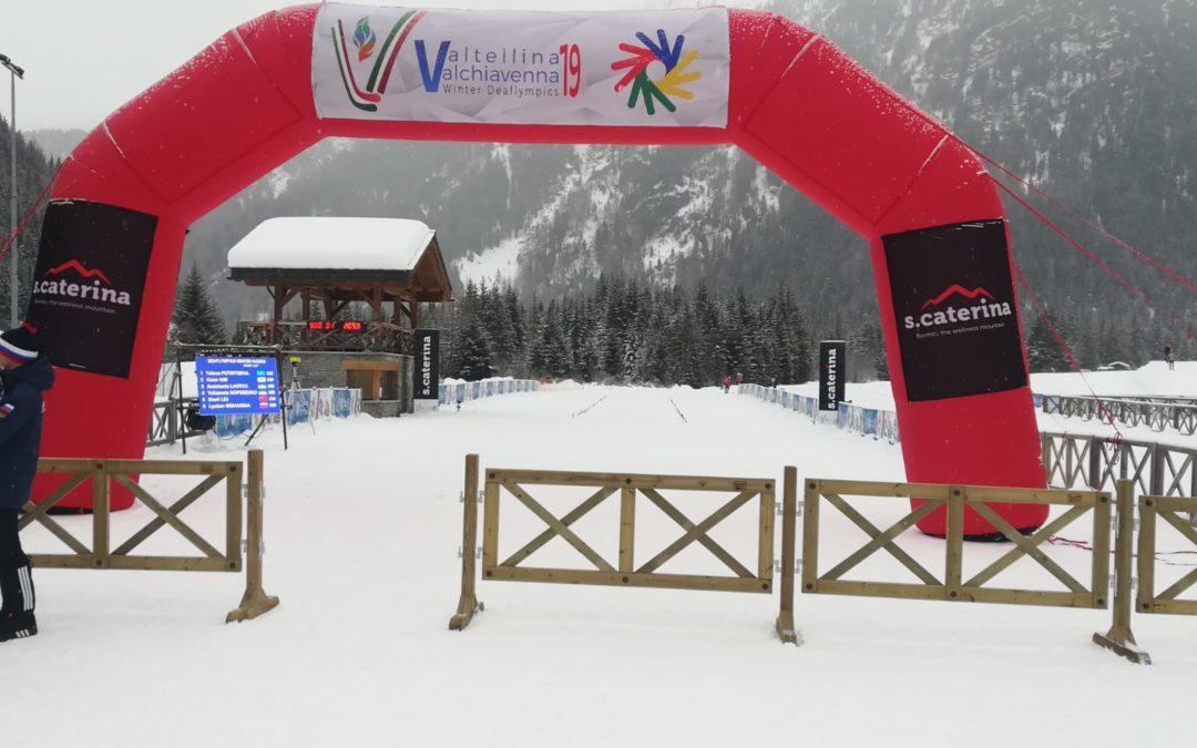 Sci nordico: Ucraina e Russia dominano la prima giornata dei Deaflympics Winter Games
