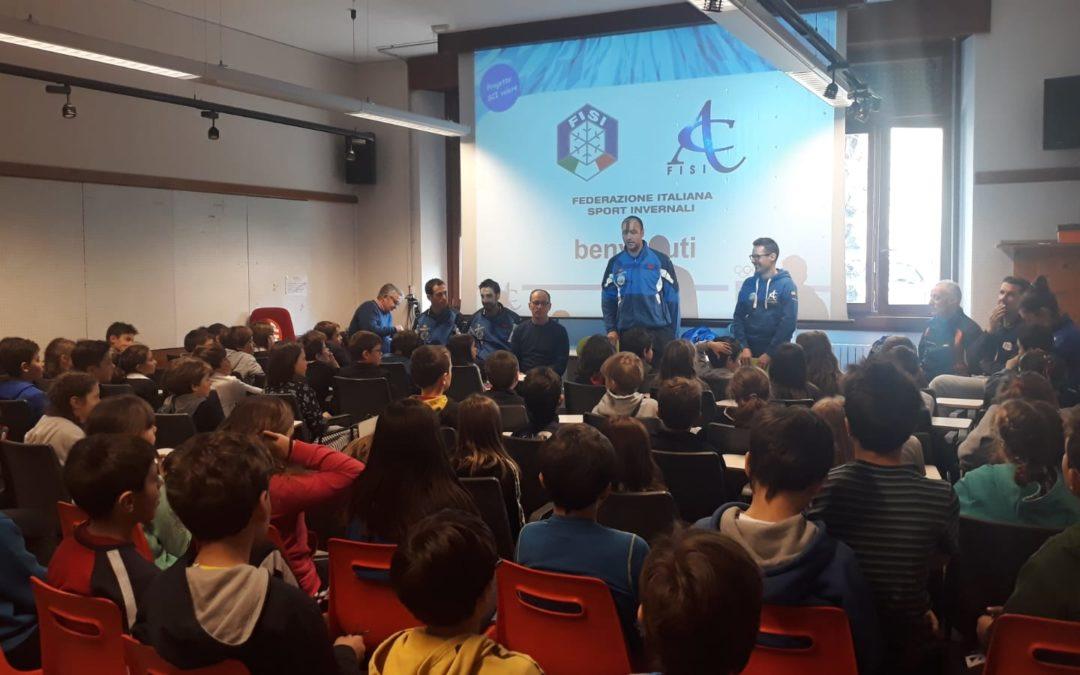 """""""Parata di stelle"""" oggi in Valtellina per il programma """"SCIvolare"""" (foto gallery)"""