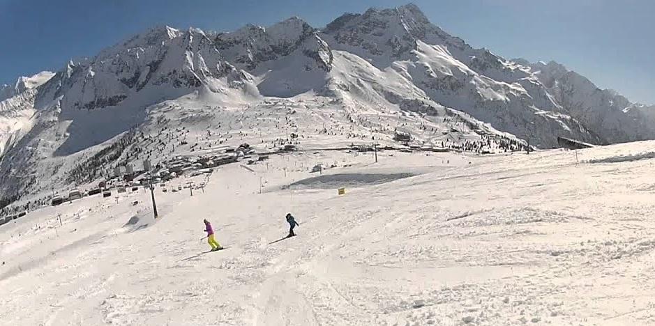 Ski cross: prima giornata di gare sulla Valena del Passo del Tonale