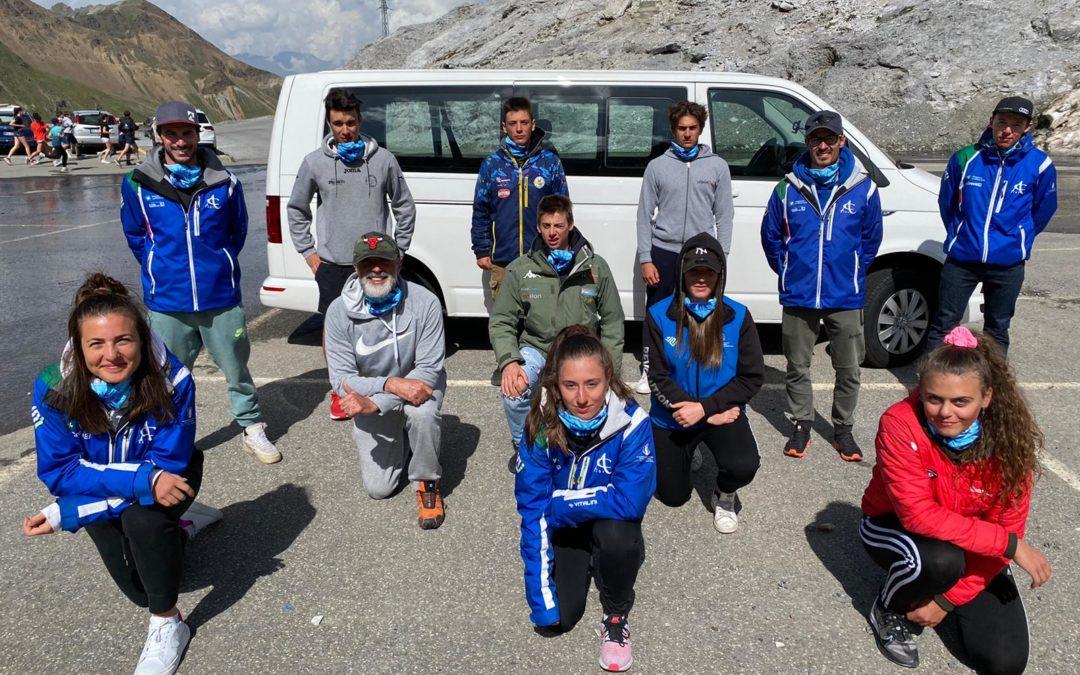 Sci alpino: concluso al Passo dello Stelvio il primo collettivo per la nuova stagione (foto gallery)