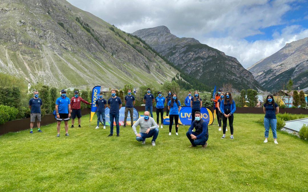 Sci nordico: la formazione del Comitato FISI Alpi Centrali di nuovo in allenamento a Tirrenia