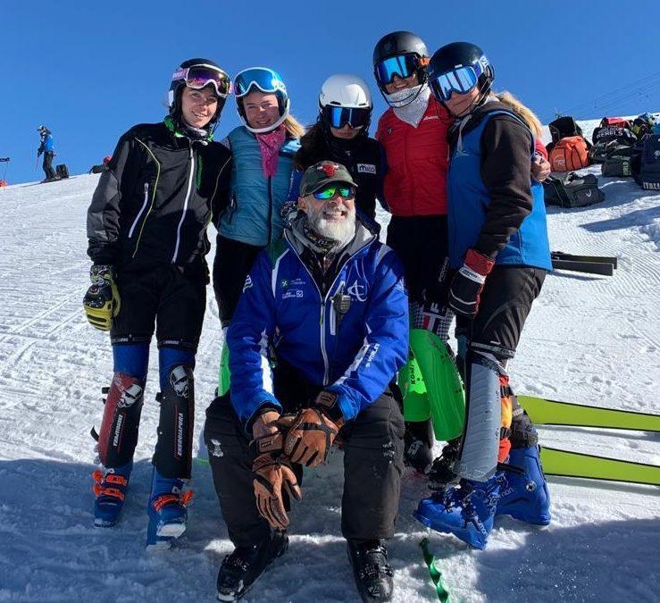 Sci alpino: concluso il collettivo numero tre al Passo dello Stelvio