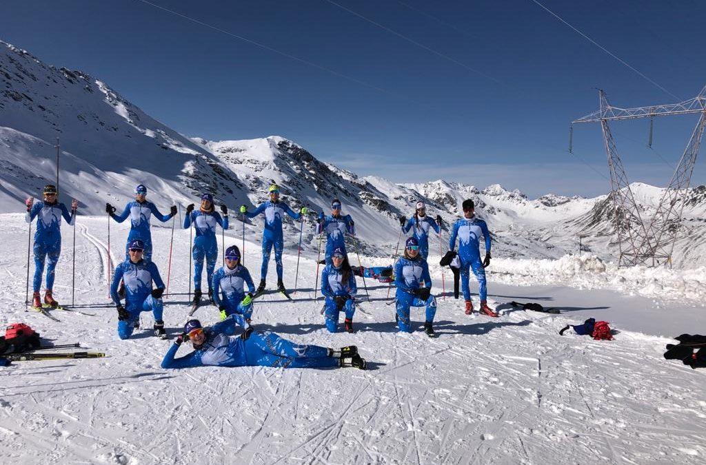Sci nordico: la squadra maschile e femminile del fondo lombardo è tornata sulla neve