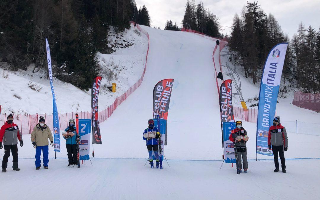 Sci alpino: la Marangon fa suo il gigante Gran Prix aspiranti de La Thuille. Zucchini è terzo aspirante a Passo San Pellegrino
