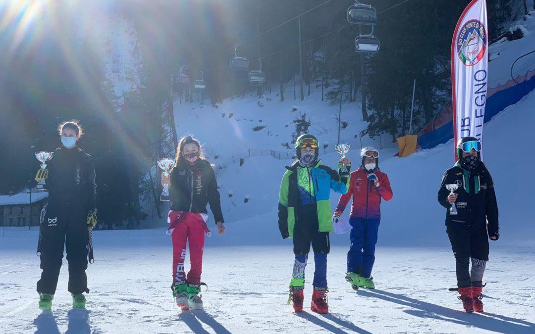 Sci alpino: la Oprandi vince lo speciale indicative Ragazzi a Ponte di Legno